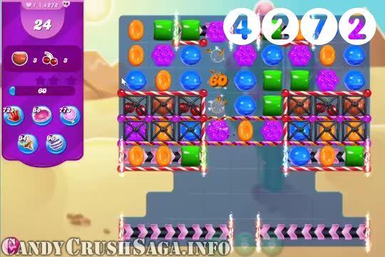 Candy Crush Saga : Level 4272 – Videos, Cheats, Tips and Tricks