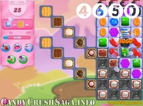 Candy Crush Saga : Level 4650 – Videos, Cheats, Tips and Tricks