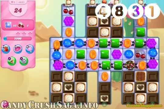 Candy Crush Saga : Level 4831 – Videos, Cheats, Tips and Tricks